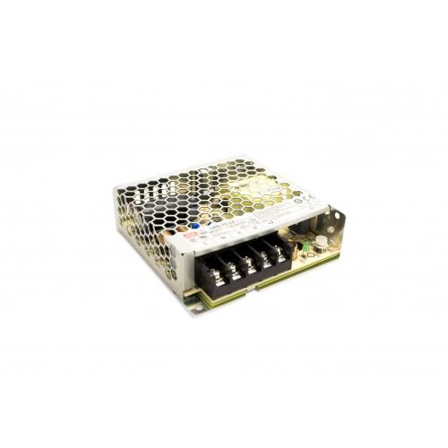 Alimentatore LED 75W MEANWELL trasformatore da esterno, tensione costante, output 12V DC/ 24V DC