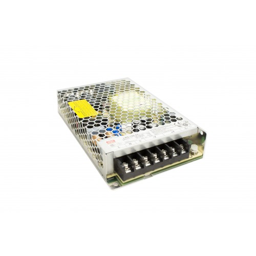 Alimentatore LED 150W MEANWELL, switching, tensione costante, IP20, output 12V DC/ 24V DC